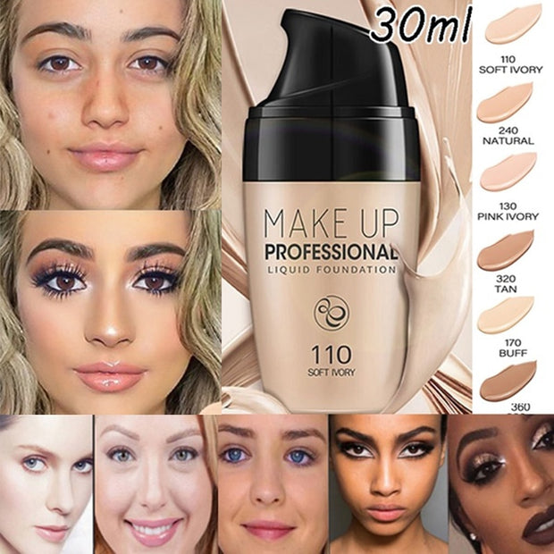 Makeup Face Foundation Liquid