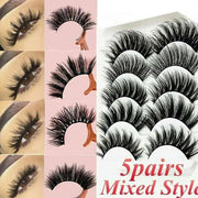 Mink Hair False Eyelashes