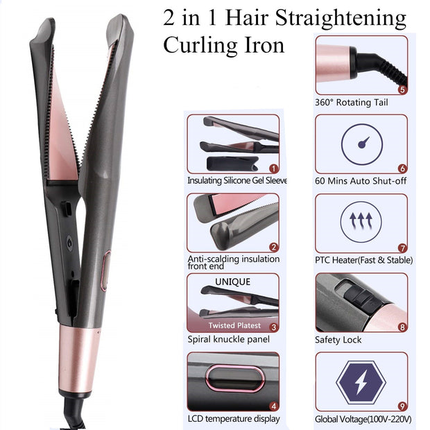 Hair Curling & Hair Straightener Irons