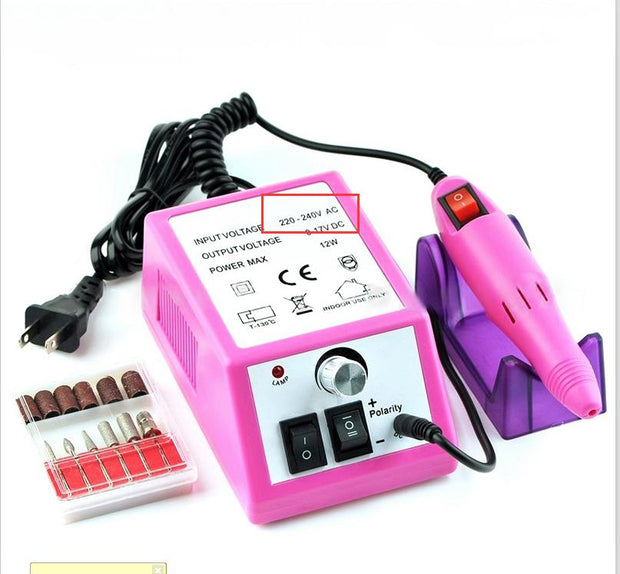 Electric Nail Manicure Set
