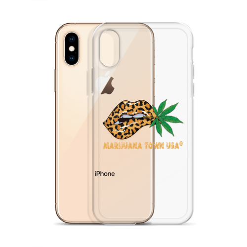 iPhone Case, LEOPARD LIPS NATURAL