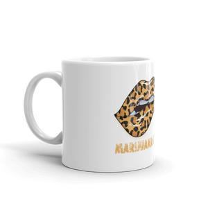 Coffee Mug, LEOPARD LIPS