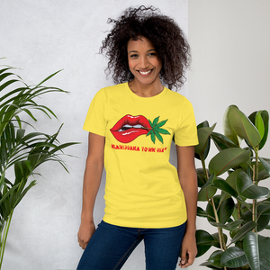 SALE! - UNISEX T-SHIRT, RAD RED LIPS!