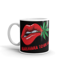 Load image into Gallery viewer, YOU SMELL LIKE WEED - Coffee Mug