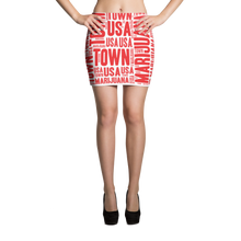 Load image into Gallery viewer, Candy Cane MT Mini Skirt