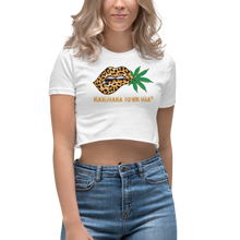 Load image into Gallery viewer, Women's Crop Top, LOVE MY LEOPARD!