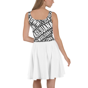 Skater Dress MT White Skirt