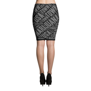 Pencil Skirt - Industrial