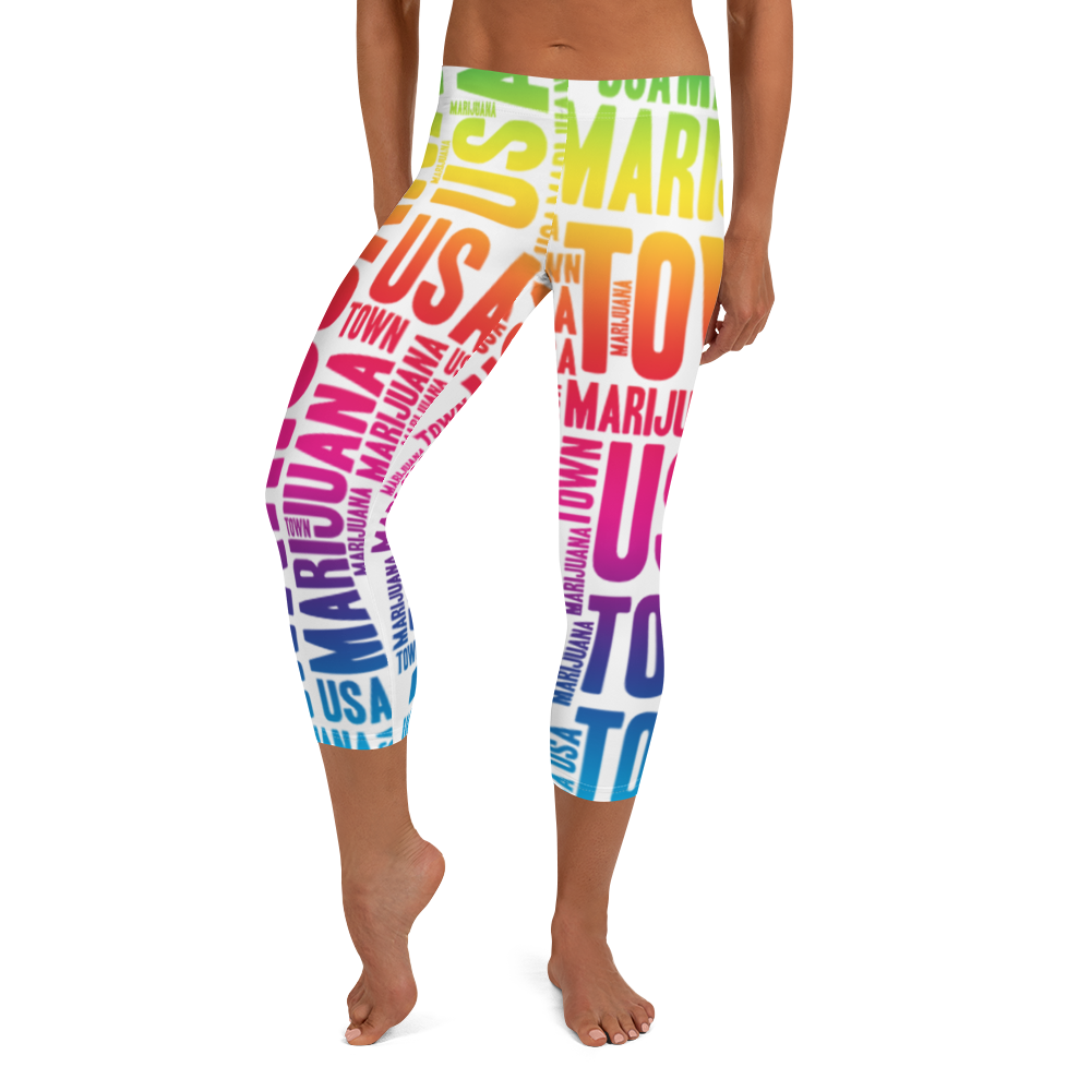 Rainbow MT Capri Leggings