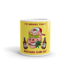 "Load image into Gallery viewer, GANGSTER ""I'D SMOKE THAT"" Coffee Mug"