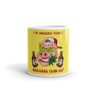 "GANGSTER ""I'D SMOKE THAT"" Coffee Mug"