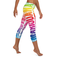 Load image into Gallery viewer, Rainbow MT Capri Leggings