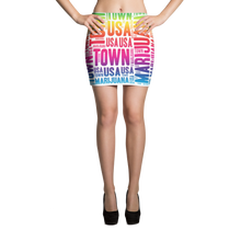 Load image into Gallery viewer, Rainbow MT Mini Skirt