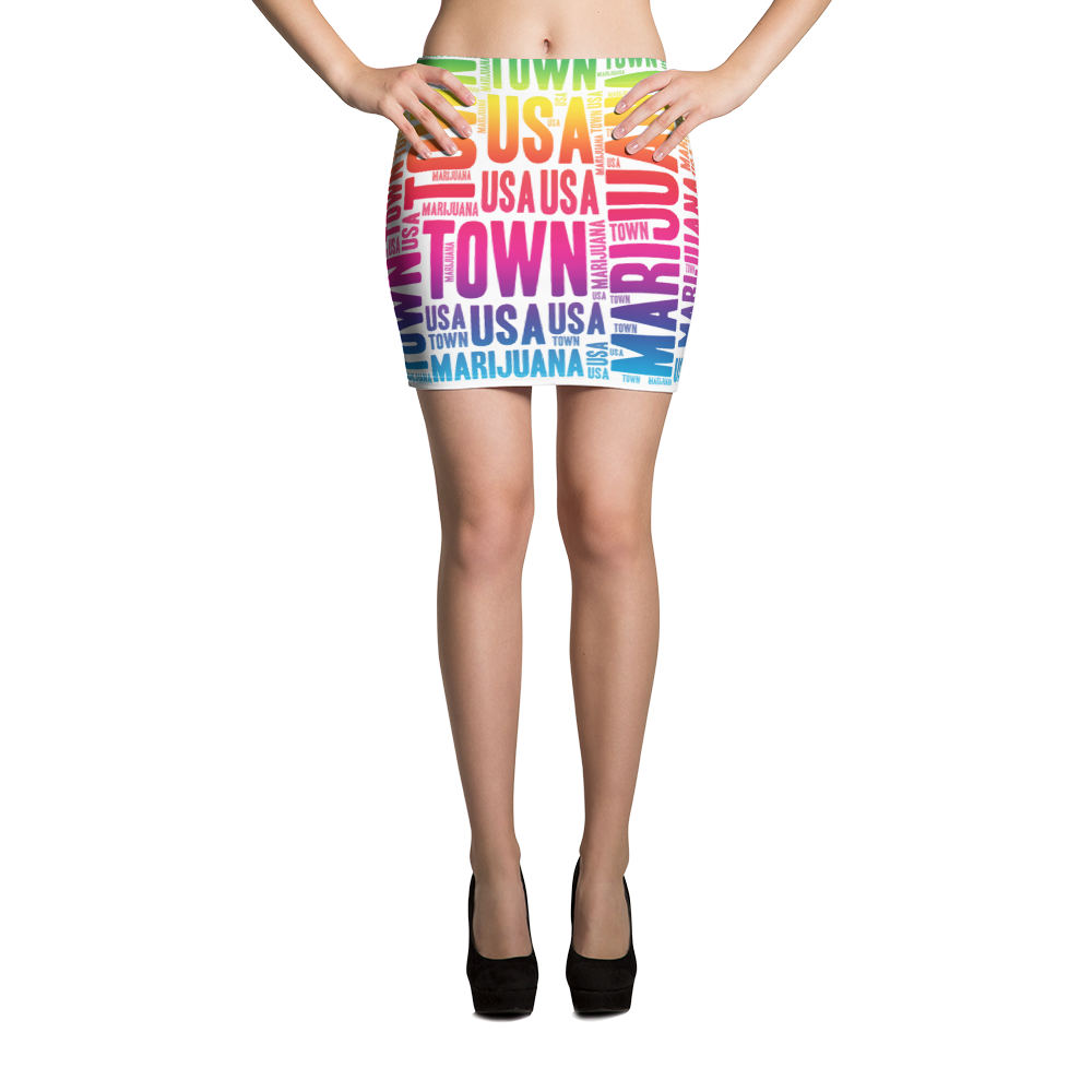 Rainbow MT Mini Skirt