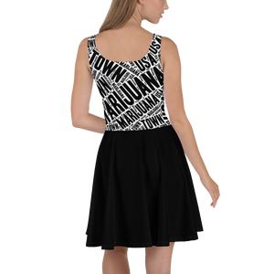 Skater Dress - MT Black Skirt
