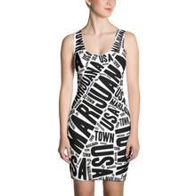 Load image into Gallery viewer, Sublimation Dress - NEWSPAPER