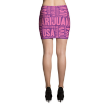 Load image into Gallery viewer, Mini Skirt - Purple & Pink