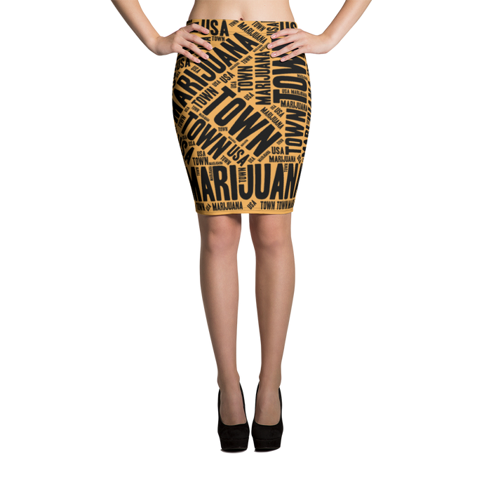 Pencil Skirt - WALL STREET
