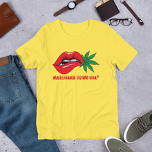 Load image into Gallery viewer, SALE! - UNISEX T-SHIRT, RAD RED LIPS!