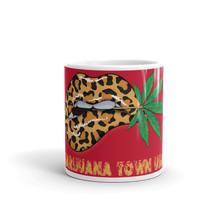 Load image into Gallery viewer, Red Marijuana Town Mug