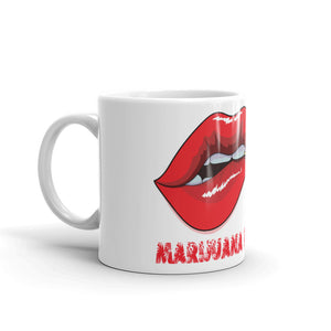 Coffee Mug, MEGA RED LIPS
