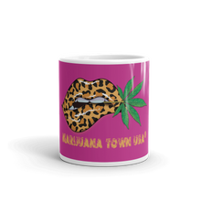 Load image into Gallery viewer, Purple Marijuana Town Mug