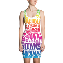 Load image into Gallery viewer, Rainbow MT Dress