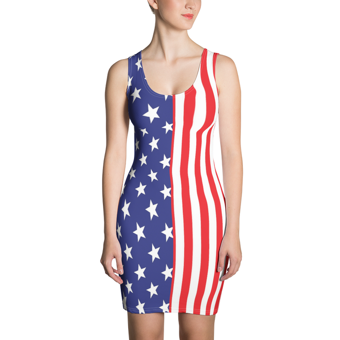 Sublimation Cut & Sew Dress - PATRIOTIC