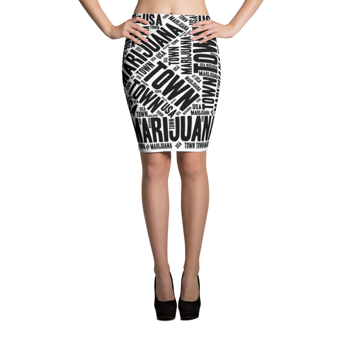 Pencil Skirt - FRONT PAGE NEWS