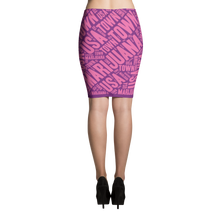 Load image into Gallery viewer, Pencil Skirt - 2 tone Purple Pink