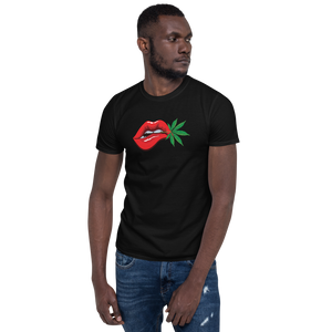 TRADEMARK RED LIPS -Short-Sleeve Unisex T-Shirt