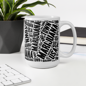 Large size Coffee Mug—NEWSPAPER