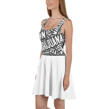 Load image into Gallery viewer, Skater Dress MT White Skirt