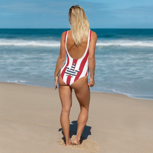 One-Piece Swimsuit-PATRIOTIC