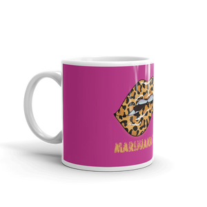 Purple Marijuana Town Mug