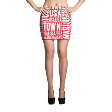 Load image into Gallery viewer, Reverse Candy Cane MT Mini Skirt