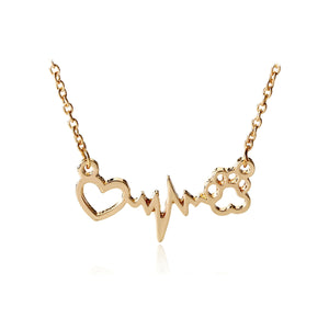 Paws Heartbeat Necklace