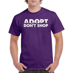 Adopt Don'T Shop Mens T Shirt