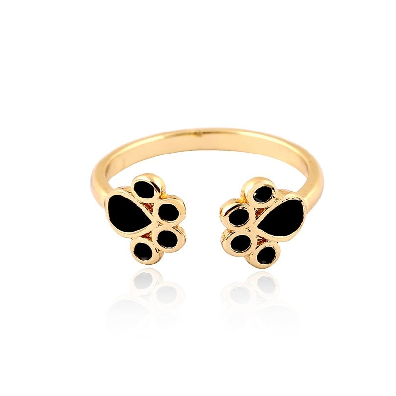 Cat Paw Print Ring