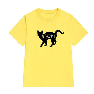 Adopt a Kitty T-Shirt