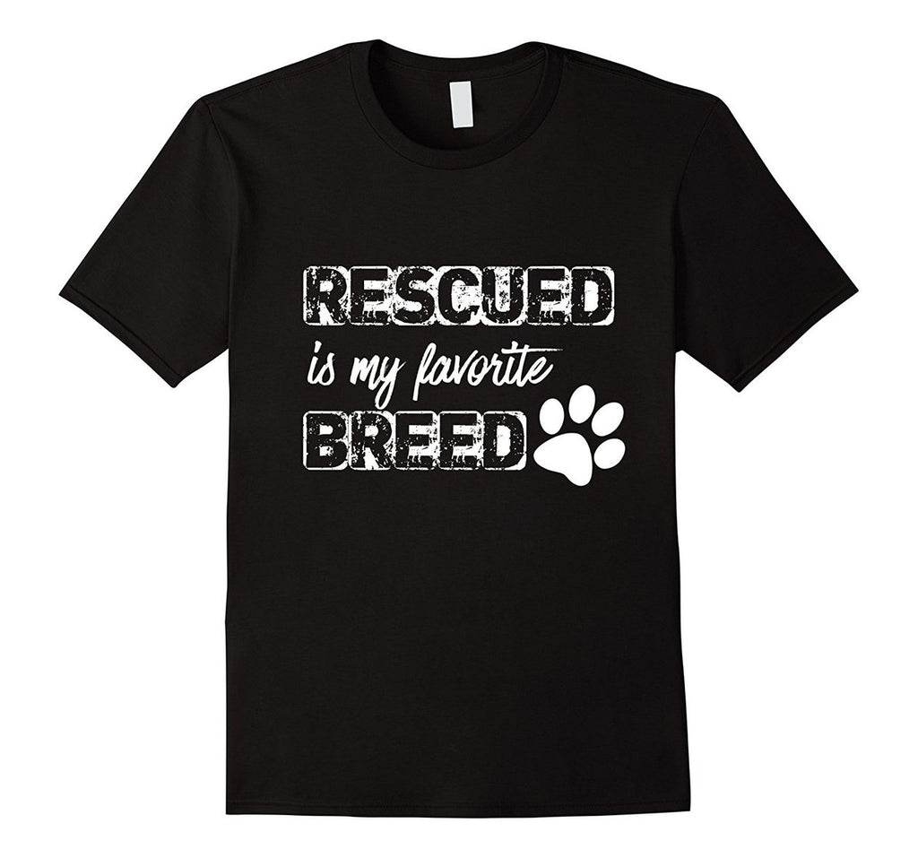 Mens Animal Rescu Cat T Shirt