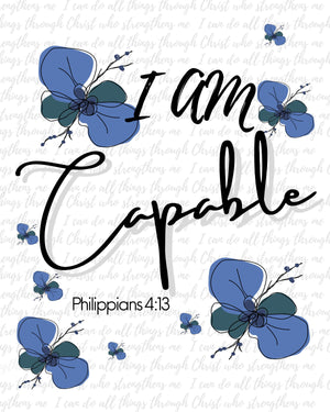 "NEW! I AM Collection: ""Capable"""
