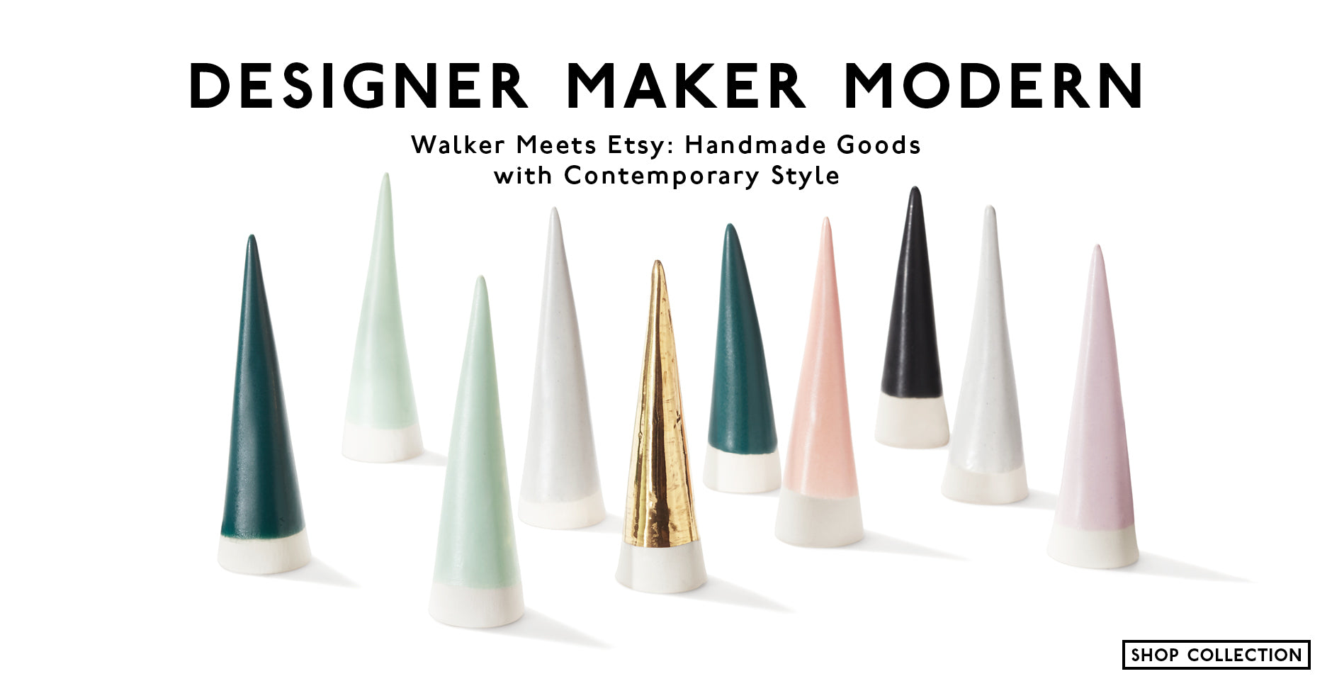Designer Maker Modern: Walker Meets Etsy