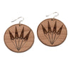 Fan Medium Earrings by Cetan Ska