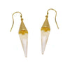 Medium Glass Cone Earrings by Michael Vincent Michaud