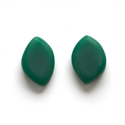 Leaf Shape Stud Earrings