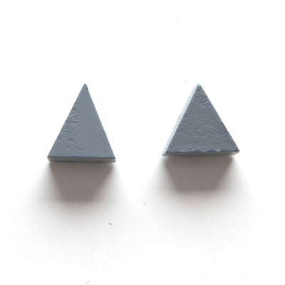 Little Triangle Stud Earrings
