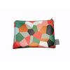Camo Faux Leather Zip Pouch by Sarah Dunbar