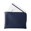 Black Quitterie Zip Pouch by Delfonics