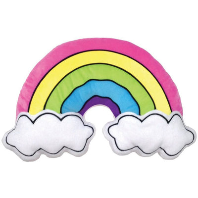 Rainbow & Clouds Pillow